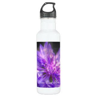 Bachelors Button Cornflower 24oz Water Bottle
