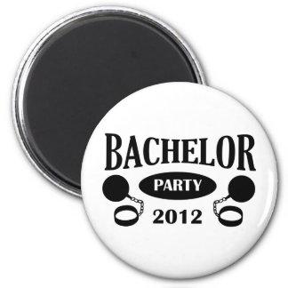 Bachelor's degree party fridge magnets