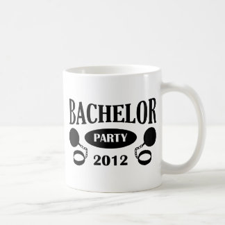 Bachelor's degree party classic white coffee mug