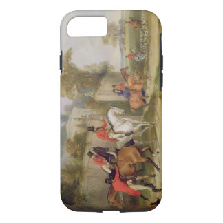 Bachelor's Hall, The Meet, 1835 (oil on canvas) iPhone 8/7 Case