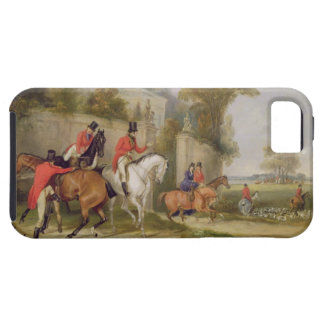 Bachelor's Hall, The Meet, 1835 (oil on canvas) iPhone SE/5/5s Case