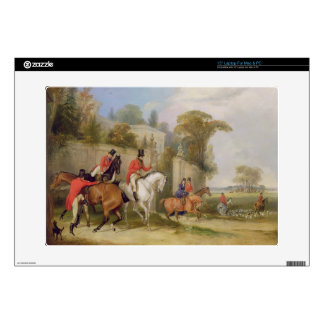 Bachelor's Hall, The Meet, 1835 (oil on canvas) Laptop Skins