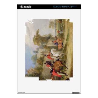 Bachelor's Hall, The Meet, 1835 (oil on canvas) Decal For iPad 3