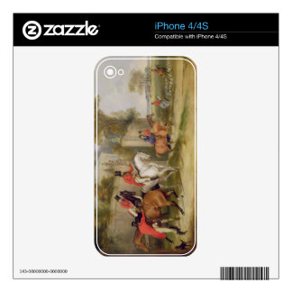 Bachelor's Hall, The Meet, 1835 (oil on canvas) Skin For iPhone 4