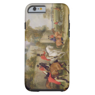 Bachelor's Hall, The Meet, 1835 (oil on canvas) Tough iPhone 6 Case