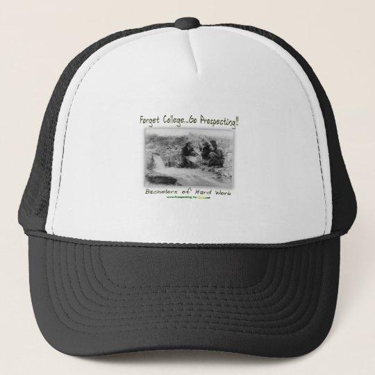 Bachelors of Hard Work Trucker Hat