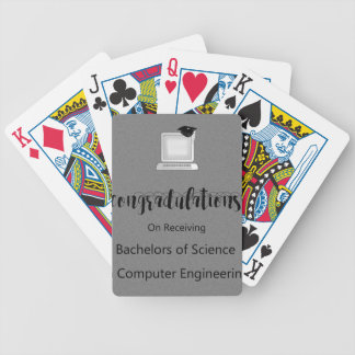 Bachelors of Science in Computer Engineering Bicycle Playing Cards