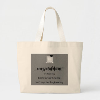 Bachelors of Science in Computer Engineering Large Tote Bag
