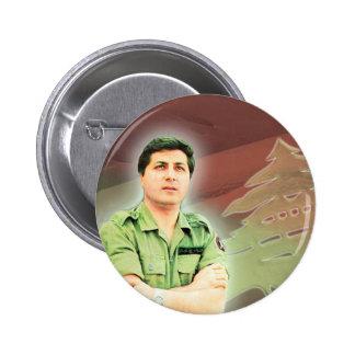 Bachir Gemayel from Lebanon Pinback Button