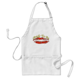 Bachlorette and Her Party Crew Adult Apron
