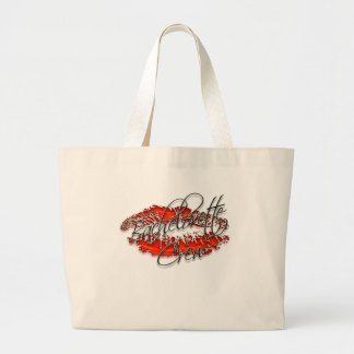 Bachlorette and Her Party Crew Large Tote Bag