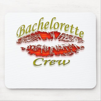Bachlorette and Her Party Crew Mouse Pad