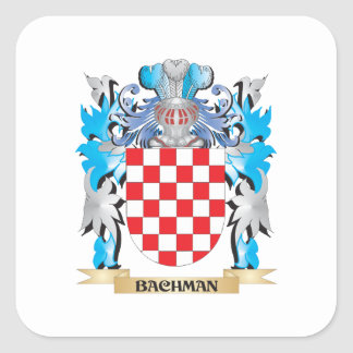 Bachman Coat of Arms Stickers