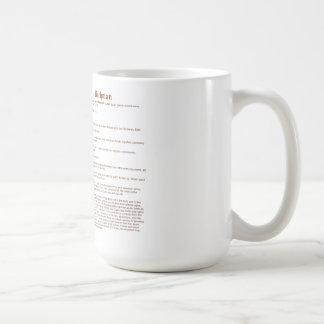 Bachman (meaning) coffee mug