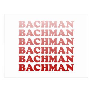 BACHMAN PATTERN POSTCARD