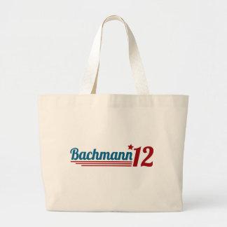 Bachmann '12 bolsa de tela grande