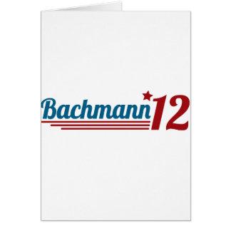 Bachmann '12 card
