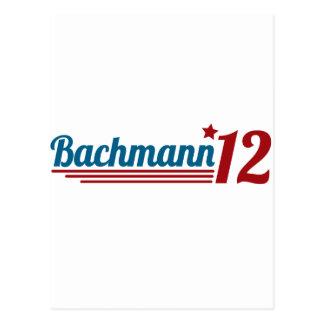 Bachmann '12 postcard