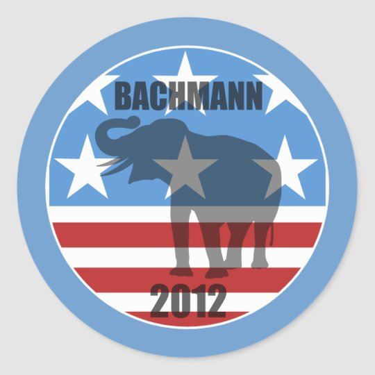Bachmann 2012 classic round sticker