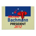 "Bachmann 2012 Invitation 5"" X 7"" Invitation Card"