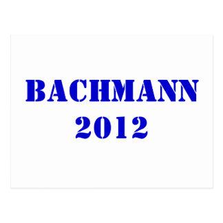 BACHMANN 2012 POSTCARD