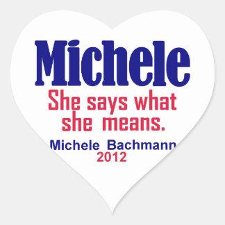 Bachmann 2012 Sticker