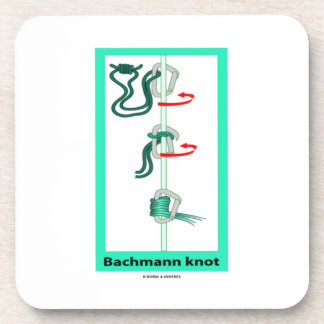 Bachmann (Bachman) Knot Friction Hitch Drink Coaster