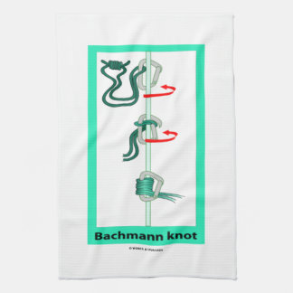 Bachmann (Bachman) Knot Friction Hitch Hand Towels