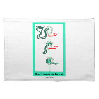 Bachmann (Bachman) Knot Friction Hitch Placemat