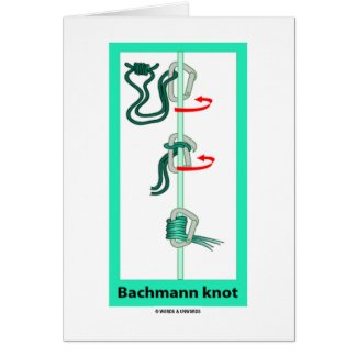 Bachmann (Bachman) Knot Greeting Cards