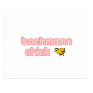 Bachmann Chick Postcard