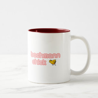 Bachmann Chick Two-Tone Coffee Mug