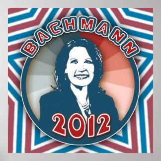 Bachmann en 2012 póster