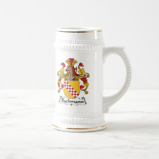 Bachmann Family Crest Beer Stein