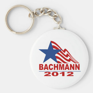 Bachmann for President 2012 Basic Round Button Keychain
