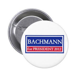 Bachmann for President 2012 Pinback Button