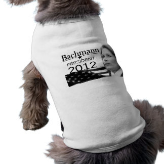 Bachmann for President Dog T-shirt