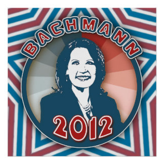Bachmann in 2012 poster
