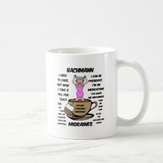 Bachmann migraines classic white coffee mug