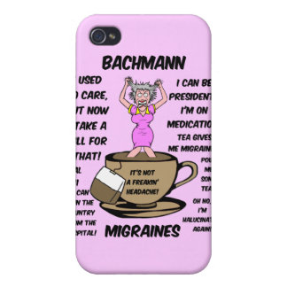 Bachmann migraines iPhone 4 cover