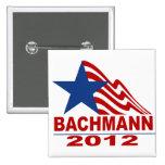 Bachmann para el presidente 2012 pins