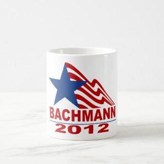 Bachmann para el presidente 2012 taza de café