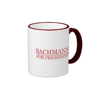 BACHMANN PARA el PRESIDENTE (rojo Taza A Dos Colores