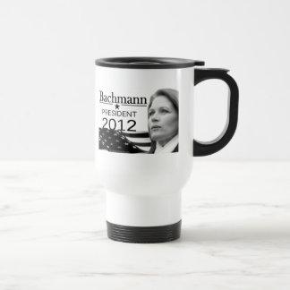 Bachmann para el presidente taza de café