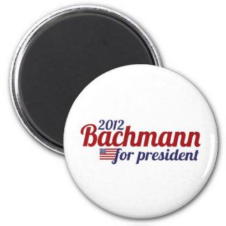 bachmann president 2012 2 inch round magnet