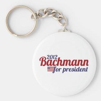 bachmann president 2012 basic round button keychain