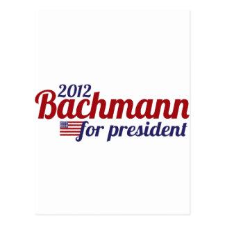 bachmann president 2012 postcard