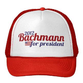 bachmann president 2012 trucker hat
