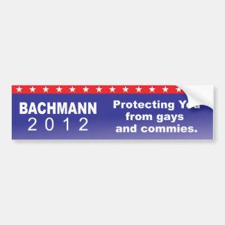 Bachmann que le protege pegatina para auto