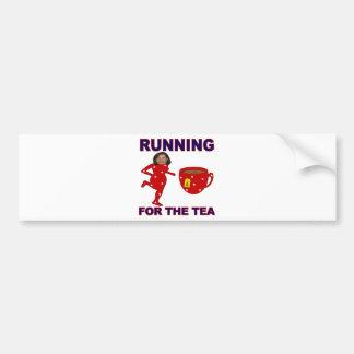 Bachmann Running for the Tea 1 Bumper Sticker